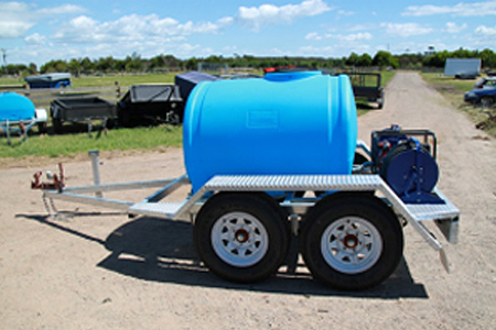 Water Tank Trailer >> Brook S Trailers